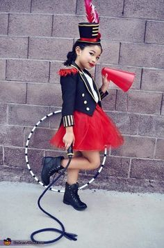 Andrew: My 8yr old daughter Alee, is a Circus Ringmaster Lion Tamer and her 2yr…