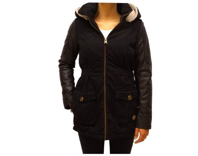 Authentic Style Winterjacke Damen Urban Surface Parka Jacke Schwarz M Jetzt bestellen unter: https://mode.ladendirekt.de/damen/bekleidung/jacken/winterjacken/?uid=796239fe-9db8-506e-91a3-703d9d122c5e&utm_source=pinterest&utm_medium=pin&utm_campaign=boards #winterjacken #bekleidung #jacken