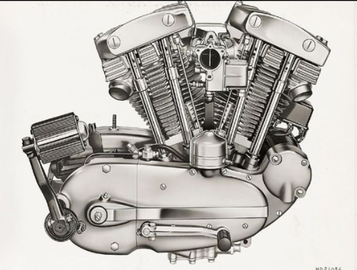 Harley Davidson: Harley Sportster Motor 55 C.i.