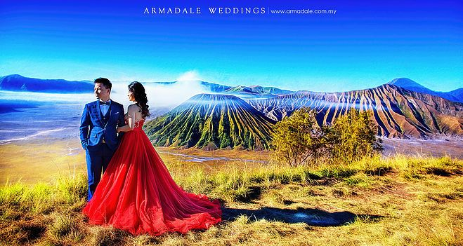 Gorgeous RED evening gowns in Armadale Weddings