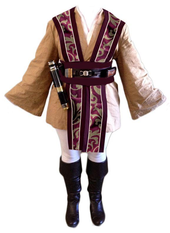 how to make a jedi knight costume