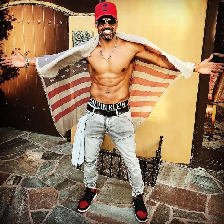 Shemar Moore celebrates Memorial Day 2017