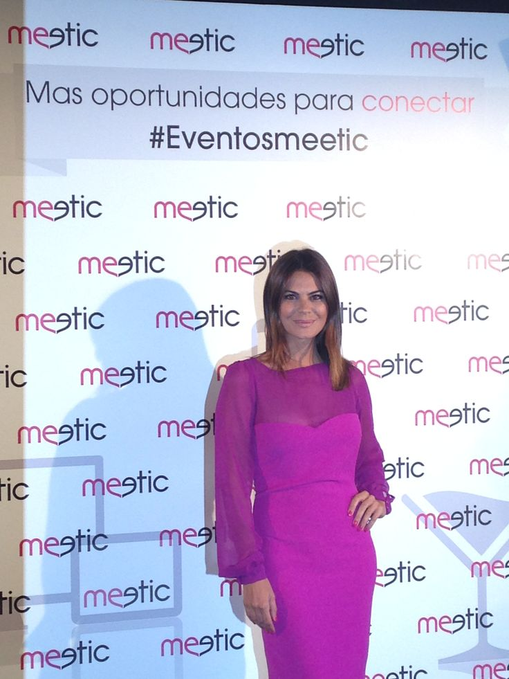 La guapísima María José Suárez posa en nuestro photocall #eventosmeetic