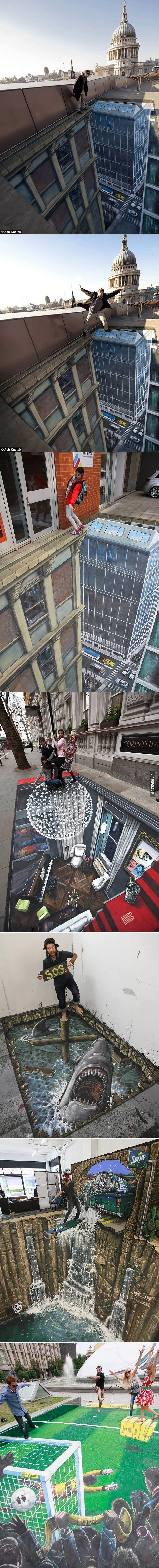 Amazing 3D Street Art | shocking and funny