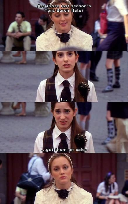 I love Blair's face in this - Gossip Girl