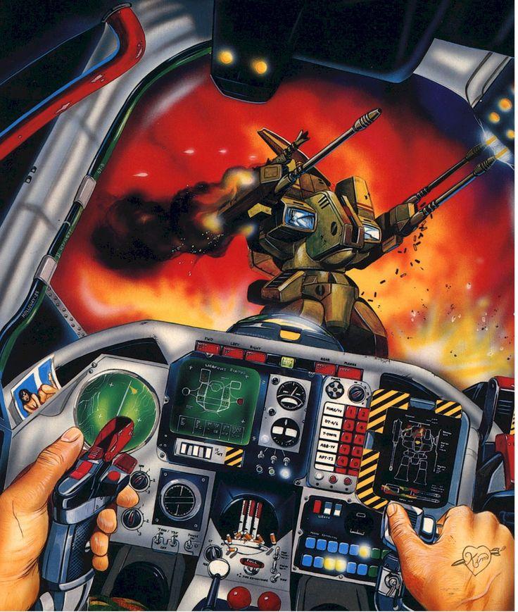 Mechwarrior radar x destroid roleplaying game
