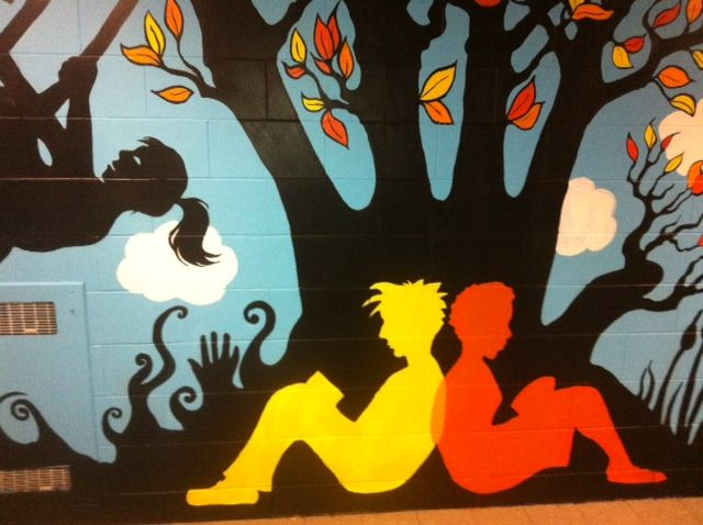 17 Best Ideas About School Murals On Pinterest School