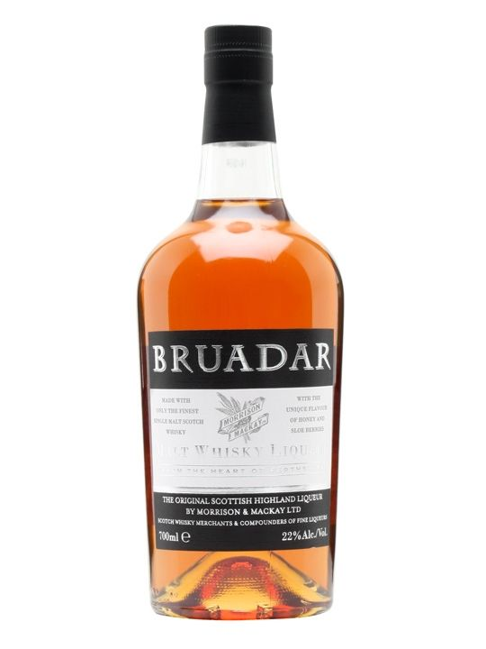 Bruadar is a liqueur (formerly known as Scottish Highland) made with malt whisky, honey and sloe berries. Amazing!!