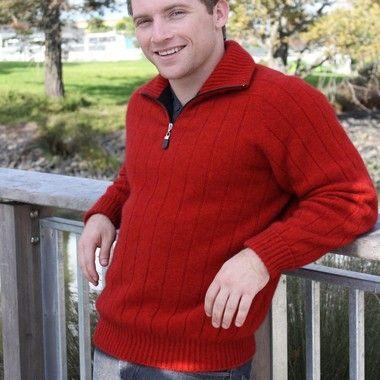 Lothlorian Half Zip Merino Possum Sweater