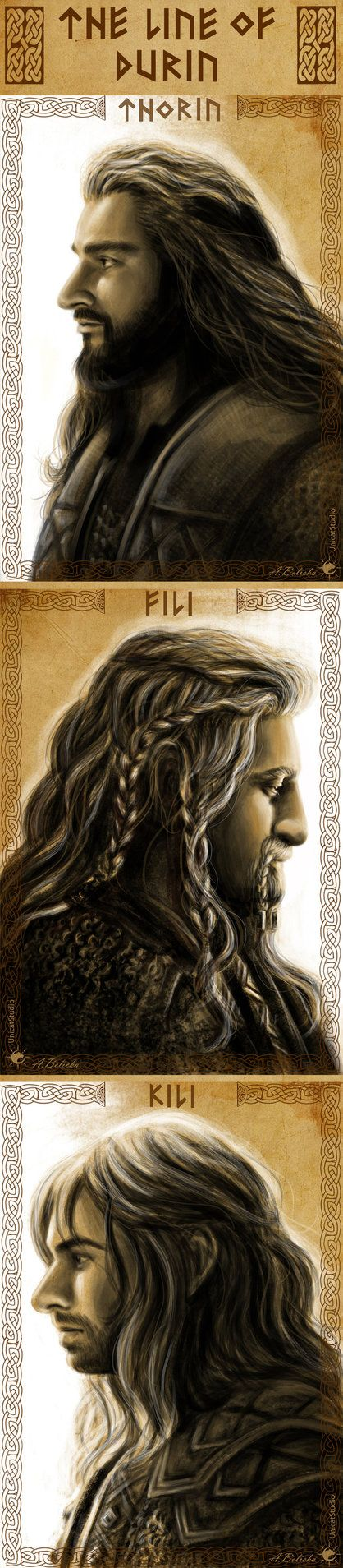 The Line of Durin by UnicatStudio on DeviantArt