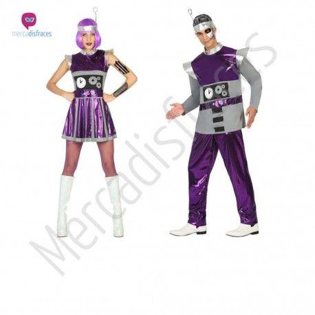 Disfraz de #Robot para mujer #disfraces para #grupos #comparsas en #mercadisfraces.es tu #tienda de #disfraces #online