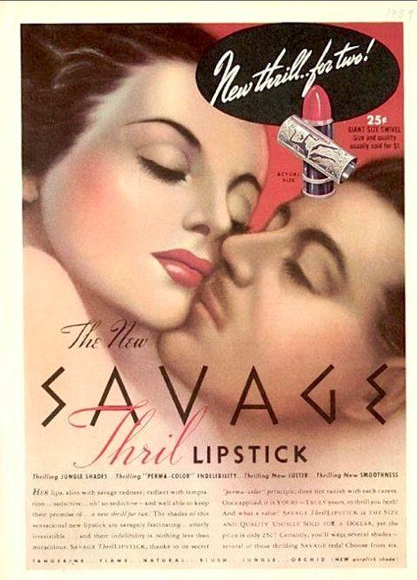 Carmen's Lalaland: Anuncios de Maquillaje Vintage