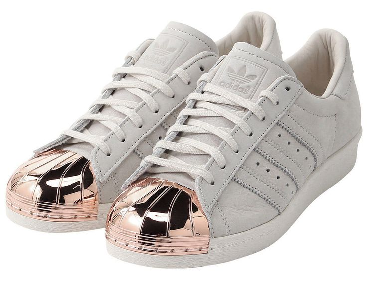 reputable site 33be4 16d7d superstar 80s metal toe womens gold