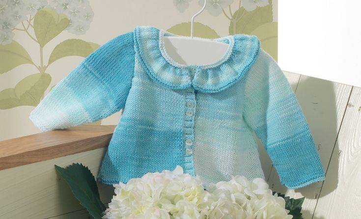 Book Baby 56 Spring / Summer | 15: Baby Jacket | Blue