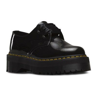 DR MARTENS Holly - Derbies en cuir - noir