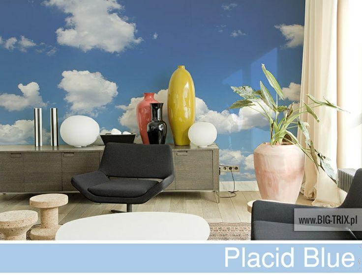 PANTONE 2014: Placid Blue sky wallpaper by Big-trix.pl | #pantone #pantone2014 #sky #wallpaper #placidblue