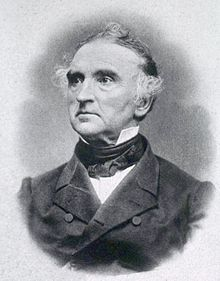 """Justus Freiherr von Liebig (12 May 1803 – 18 April 1873) was a German chemist who made major contributions to agricultural and biological chemistry, and worked on the organization of organic chemistry. He is considered the """"father of the fertilizer industry"""" for his discovery of nitrogen as an essential plant nutrient … He also developed a manufacturing process for beef extracts, and founded a company, Liebig Extract of Meat Company…"""
