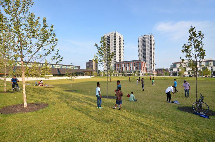 Regent Park's new 6-acre park!
