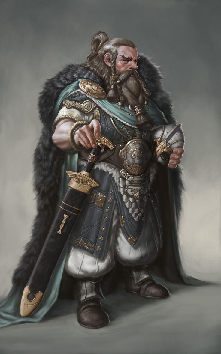 Dwarf General, Bugeon Choi on ArtStation at https://www.artstation.com/artwork/q3QwR