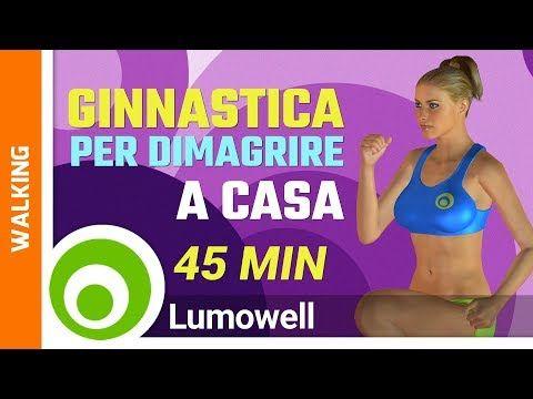 Brucia 300 Calorie in 15 Minuti - Esercizi per Dimagrire - YouTube
