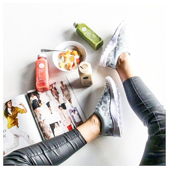 Charlotte of Winston and Willow and the perfect Saturday breakfast spread, featuring our BRONX 'Body' Sneakers'.  http://tinyurl.com/maykxkd