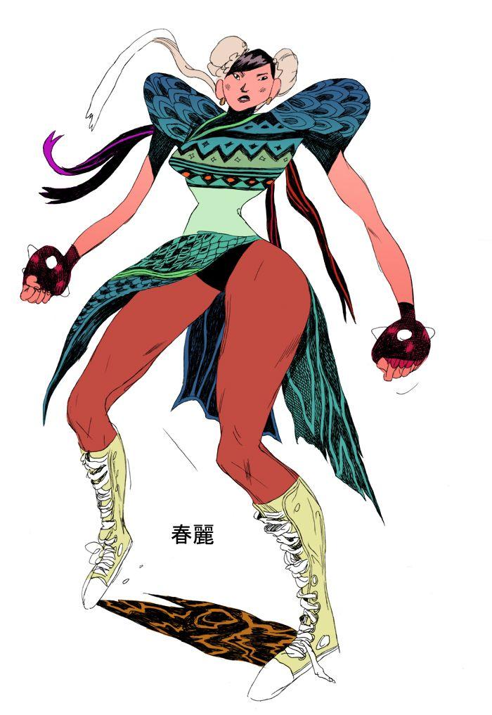 : Chun Li Zhang (Street Fighter)