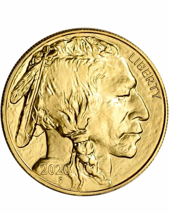 2020 Gold American Buffalo 1 Oz 50 1 Roll 20 Coins Mint In Tube In 2020 Gold Coins Gold Eagle Coins Coins