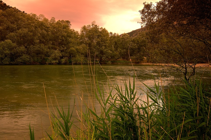 VISIT GREECE| Nestos river, located in the south side of Kavala and Xanthi boarders. #Nestos #river #Greece