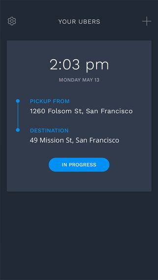TimeTravel - Prebook rides for Uber by Nelson Shaw
