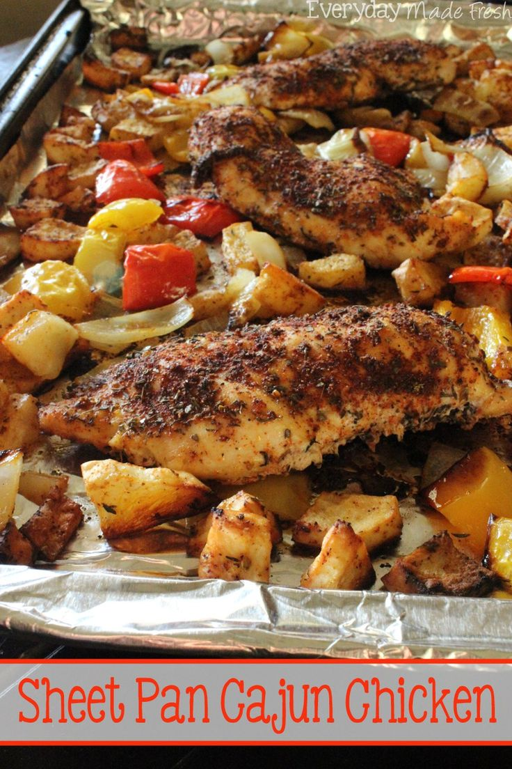 how to cook chicken with cajun spices