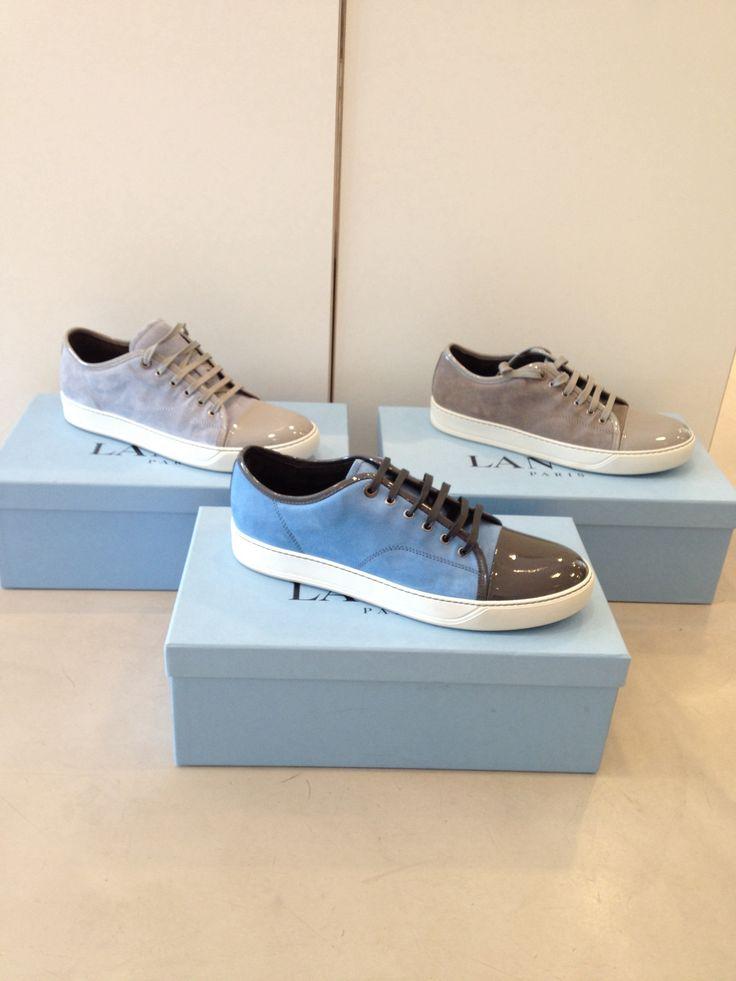 Lanvin Men S/S 14 Sneakers €319,- (Grey, Blue )