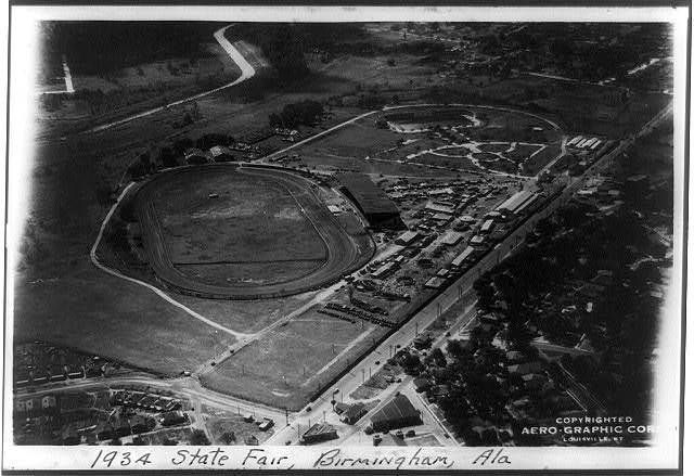 Aerial View - Birmingham - 1934 State Fair Grounds