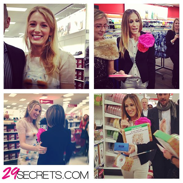 29Secrets Instragram - Target Canada Launch with Blake Lively and Sarah Jessica Parker