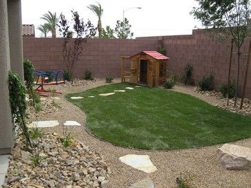 kid friendly landscaping ideas backyard | Contemporary Eclectic Modern Traditional Asian Mediterranean Tropical
