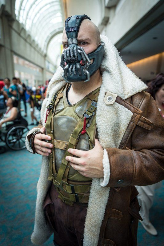 Bane (Batman) Cosplay - #SDCC San Diego Comic Con 2014