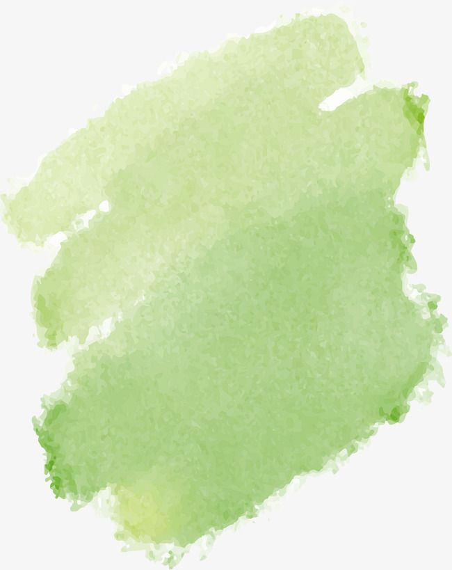 Green Watercolor Graffiti Brush Effect Vector Png Brush Green
