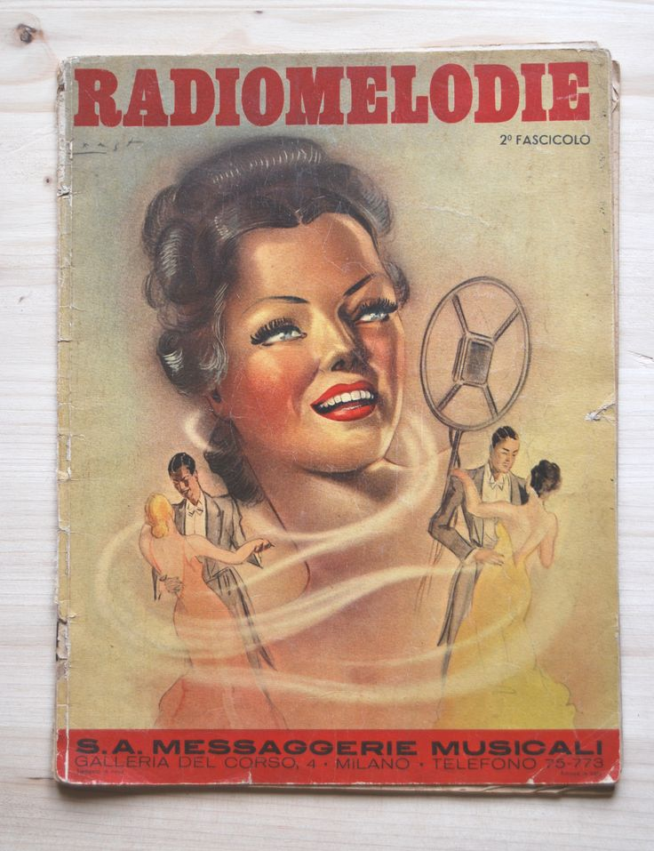 On sale now! https://www.etsy.com/listing/197514021/sheet-music-radiomelodie-second-issue?ref=listing-0