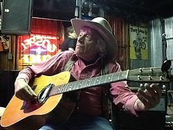 Ramblin Jack Elliott at Knuckleheads Saloon Gospel Lounge. Ramblin' Jack Elliott (born Elliot Charles Adnopoz; August 1, 1931) is an American folksinger and performer.