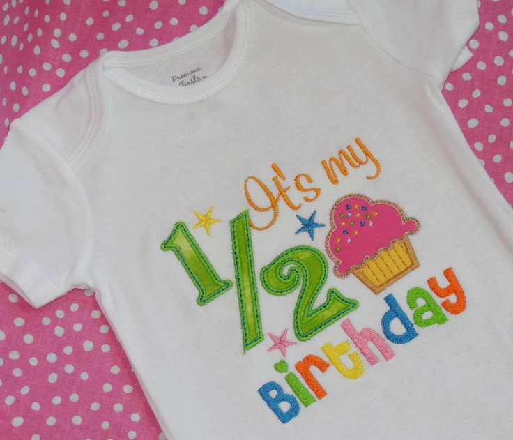 38 best images about one half year birthday on pinterest for 6 month birthday decorations