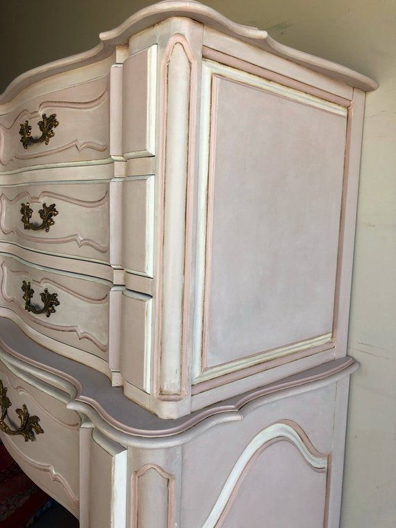 painted pink dresser chest of drawers bedroom furniture in tampa rh pinterest com