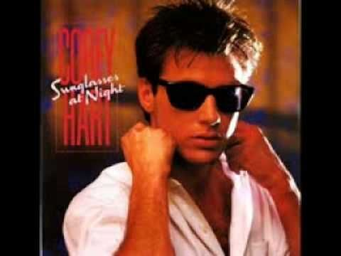 Canadian - Corey Hart -   Sunglasses At Night - Excellent Quality Video - originally pinned by Louise Szczepanik
