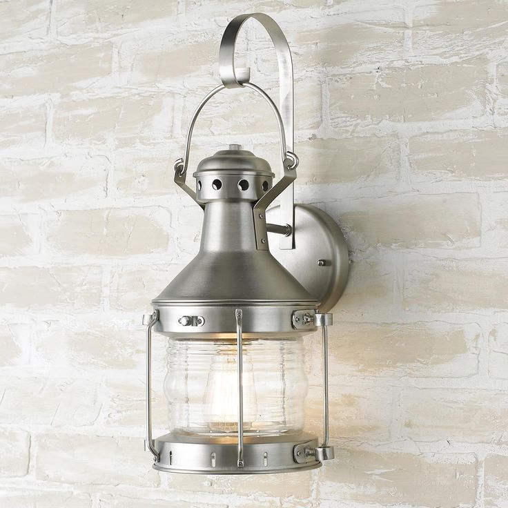 Outdoor Lights Cape Town: Rustic Nautical Outdoor Wall Light