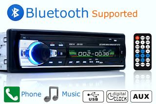 Car Radio Stereo Player Bluetooth Phone AUX-IN MP3 FM/USB/1 Din/remote control 12V Car Audio Auto 2017 Sale New (32231999018)  SEE MORE  #SuperDeals