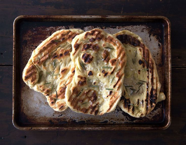 Don't be afraid of yeast. Erin McDowell is here to take the fear out of bread baking -- starting with how to make grilled flatbread.