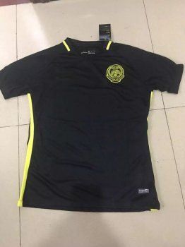 Malaysia National Team 2017 Home Black Soccer Jersey [I884]