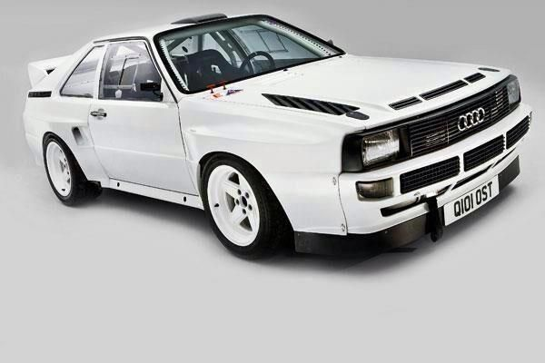 Audi Sport Quattro - when Rally Cars, weren't family hatchbacks.