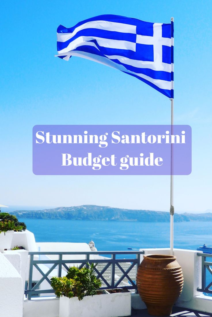 Everyone should go to Santorini, it's amazing. Here's how we did it on a tight budget!