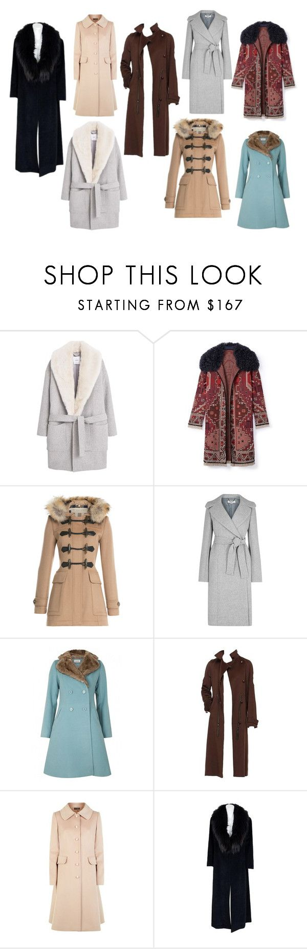 пальто 15-16 by tatyana-yurasova on Polyvore featuring мода, Sorelle Fontana, MANGO, Burberry, Yves Saint Laurent, Tory Burch, Louche, STELLA McCARTNEY and Dolce&Gabbana