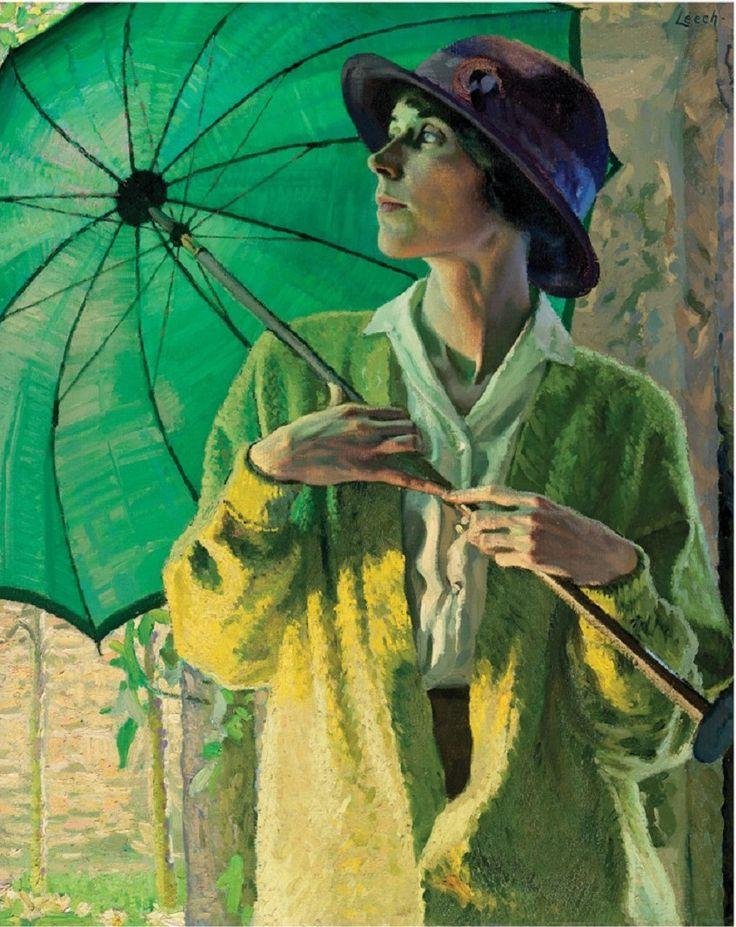 The Sunshade, 1913, William John Leech (1881-1968).