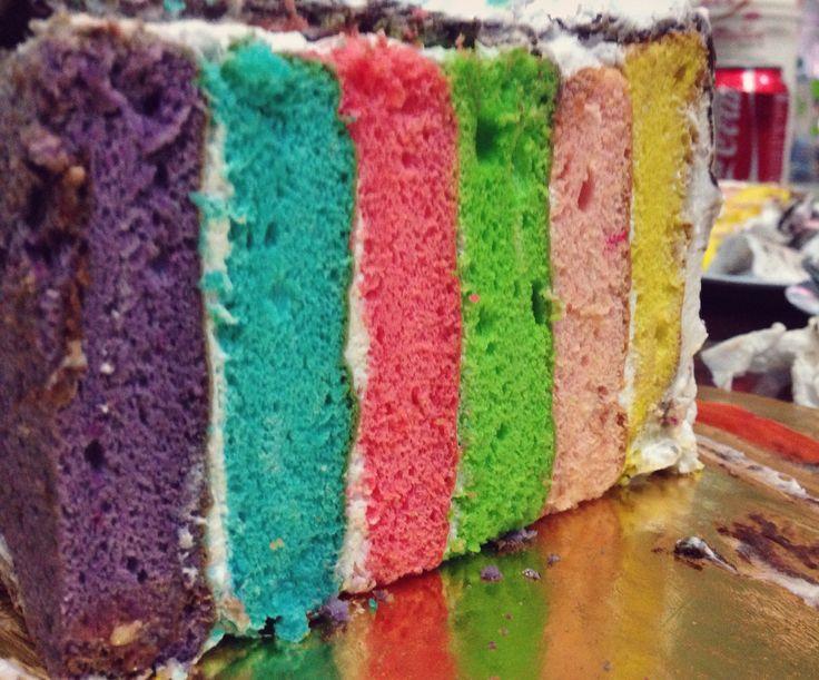 #rainbowcake